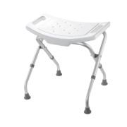 Croydex Adjustable Shower Seat White 475-510 x 495 x 498mm