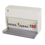 Wylex Dual RCD Split Load Unit