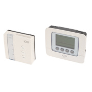 i-QE 7 Day Wireless Programmable Thermostat Receiver with Li-Ion Back-Up