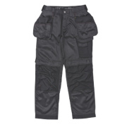 Snickers 3212 DuraTwill Trousers Black 36