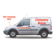 Made-To-Order Vehicle Advertising Livery 200 x 600mm