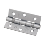 Eclipse Ball Bearing Hinge Satin Chrome 76 x 51mm Pk2