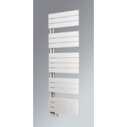 Oceanus Open Vertical Designer Towel Radiator White 1195 x 600mm 2470BTU