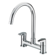 Bristan QST DSM C Quest Sink-Mounted Deck Sink Mixer Kitchen Tap Chrome