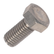 Set Screws A2 Stainless Steel M12 x 25mm Pack of 10