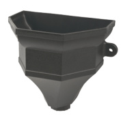 FloPlast Cast Iron Effect Ogee Hopper with Lugs