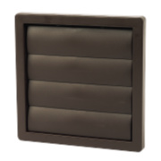 Manrose Flap Vent Brown 160 x 160mm