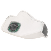 JSP Typhoon Horizontal Fold Flat Valved Mask FFP1