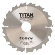 Titan TCT Circular Saw Blade 16T 160 x 16/20/30mm