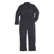 Dickies Redhawk Zip Front Coverall Navy 44-46