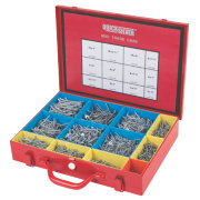Quicksilver Woodscrews Midi Trade Case Zinc-Plated 2000 Pieces
