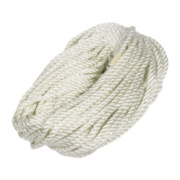 Twisted Nylon Rope White 6mm x 30.5m