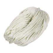Twisted Nylon Rope White 6mm x 30.5m