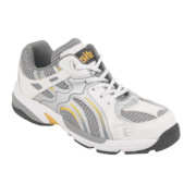 Site Quarry Mesh Safety Trainers White Size 10