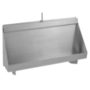 Franke Centinel Wall-Mounted Concealed Urinal S/Steel 1500 x 300 x 555mm
