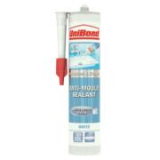 Unibond Anti Mould Sanitary Sealant Ice White 300ml