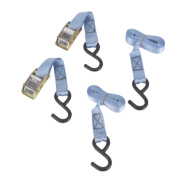 Cambuckle Tie-Down Straps 1.8m x 25mm 2 Piece Set