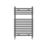 Kudox Flat Bar-on-Bar Towel Rail Chrome 700 x 500mm 292W 996Btu