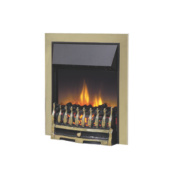 Dimplex Antique Brass Traditional Inset Electric Fire Brass 2kW