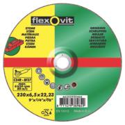 Flexovit Stone Grinding Discs 230 x 6 x 22.2mm Bore Pack of 5