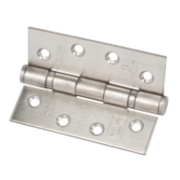 Eclipse Grade 11 Ball Bearing Hinges Satin Stainless Steel 102 x 76mm Pk2