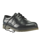 Sterling Steel Cushion Sole Safety Shoes Black Size 6