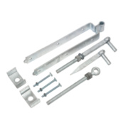 Adjustable Gate Kit Spelter Galvanised 90 x 450 x 70mm