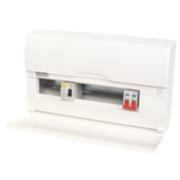 12-Way Split Load Consumer Unit 80A RCD & 100A Switch