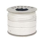 Labgear RG6 Satellite Coaxial Cable 100m White