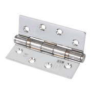 Eclipse Ball Bearing Hinges Polished Chrome 102 x 76mm Pk3
