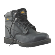 Site Rock Safety Boots Black Size 7