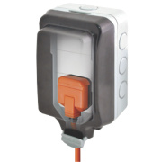 BG 13A 1G Unswitched Weatherproof Socket
