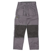 Site Terrier Classic Work Trousers Grey 30