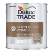 Dulux Trade Trade Stain Block Plus White 1Ltr