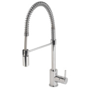 Moretti Pull-Out Sink-Mounted Mono Mixer Kitchen Tap Chrome