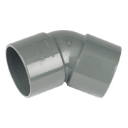 FloPlast 135º (45°) Bend Grey 40mm Pack of 5