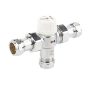 Pegler Prestex TMV2 Thermostatic Mixing Valve 22mm