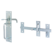 Standard Suffolk Gate Latch Zinc-Plated 180mm