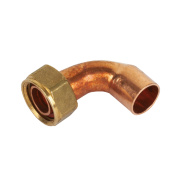 Yorkshire Endex Bent Tap Connector N63 15mm x ½