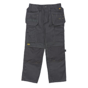 DeWalt Pro Tradesman Work Trousers Black 34