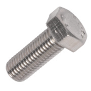 Set Screws A2 Stainless Steel M16 x 40mm Pack of 5