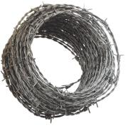 Apollo mm Steel Barbed Wire x 25m