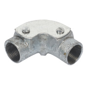 20mm Galvanised Inspection Elbow