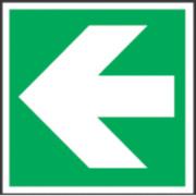 Arrow Symbol Sign 150 x 150mm