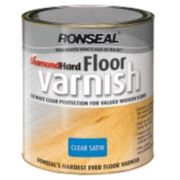 Ronseal Diamond Hard Floor Varnish Satin 2.5Ltr
