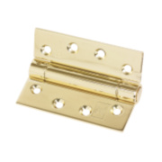 Eclipse Fire Door Companion Hinge Electro Brass 102 x 76mm