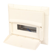 MK 12-Module Flush Metal Consumer Unit