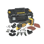 DeWalt DCS355M2-GB 18V 4.0Ah Li-Ion Cordless Multi-Tool XR Brushless Motor