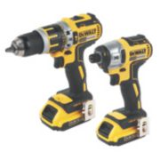 DeWalt DCK245D2 14.4V 2.0Ah Li-Ion Combi Drill & Impact Driver XR Brushless