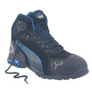 Puma Rio Mid-Safety Trainer Boots Black Size 7